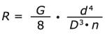 Formula spring constant