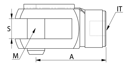 Technical drawing - Clevis