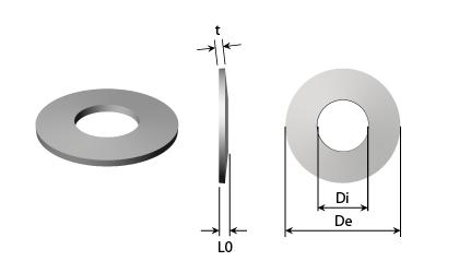 Tech Drawing - Disc springs