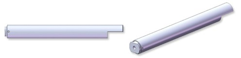 Stainless steel Locking tube with gas spring